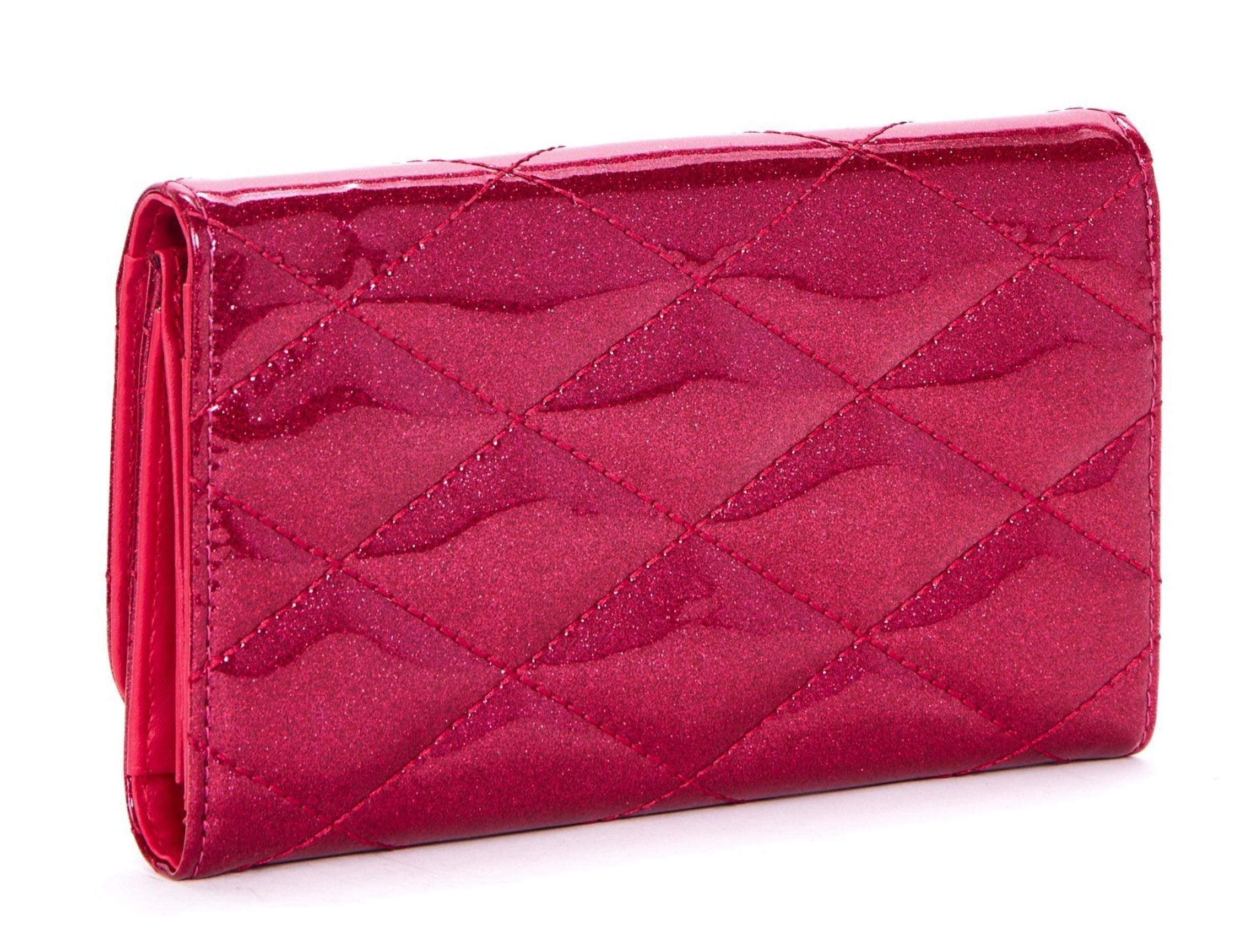 The V-8 HOT ROD Wallet - SIZZLE PINK SPARKLE