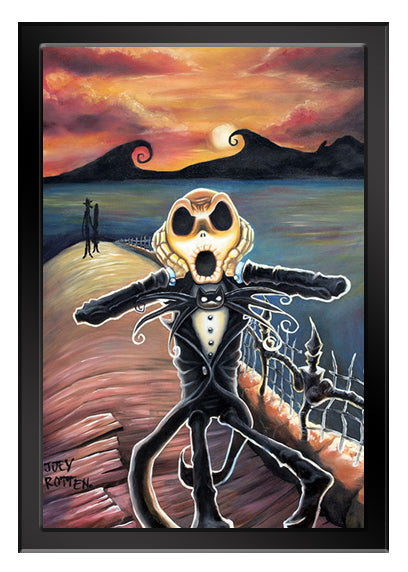 JACK SCREAMS Art Print