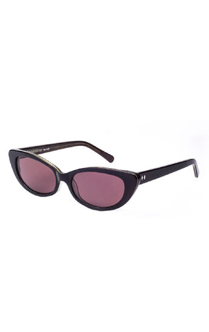 The JANE Sunglasses by Tres Noir - Moss and Tortoise Frames w/ Brown CR-39 Lenses - ON SALE!