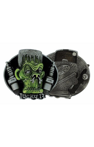 The MONSTER KNOCKER Buckle With Stash Box - By Doug Dorr
