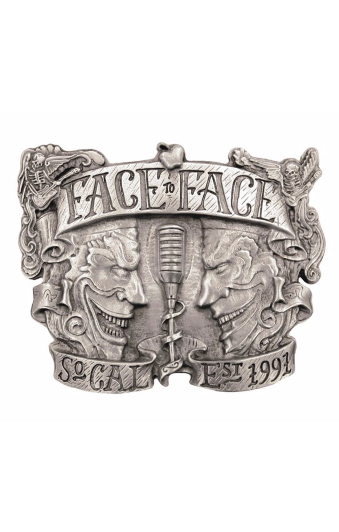 The FACE TO FACE Belt Buckle