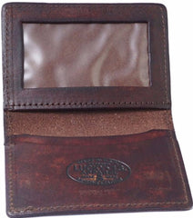 The WINGED PISTON Credit Card & ID Holder Wallet