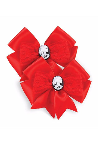 The BEAUTY FOREVER Hair Bow (SET OF 2 BOWS)