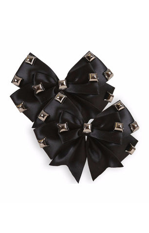 The DARK SIDE Hair Bow (SET OF 2 BOWS)