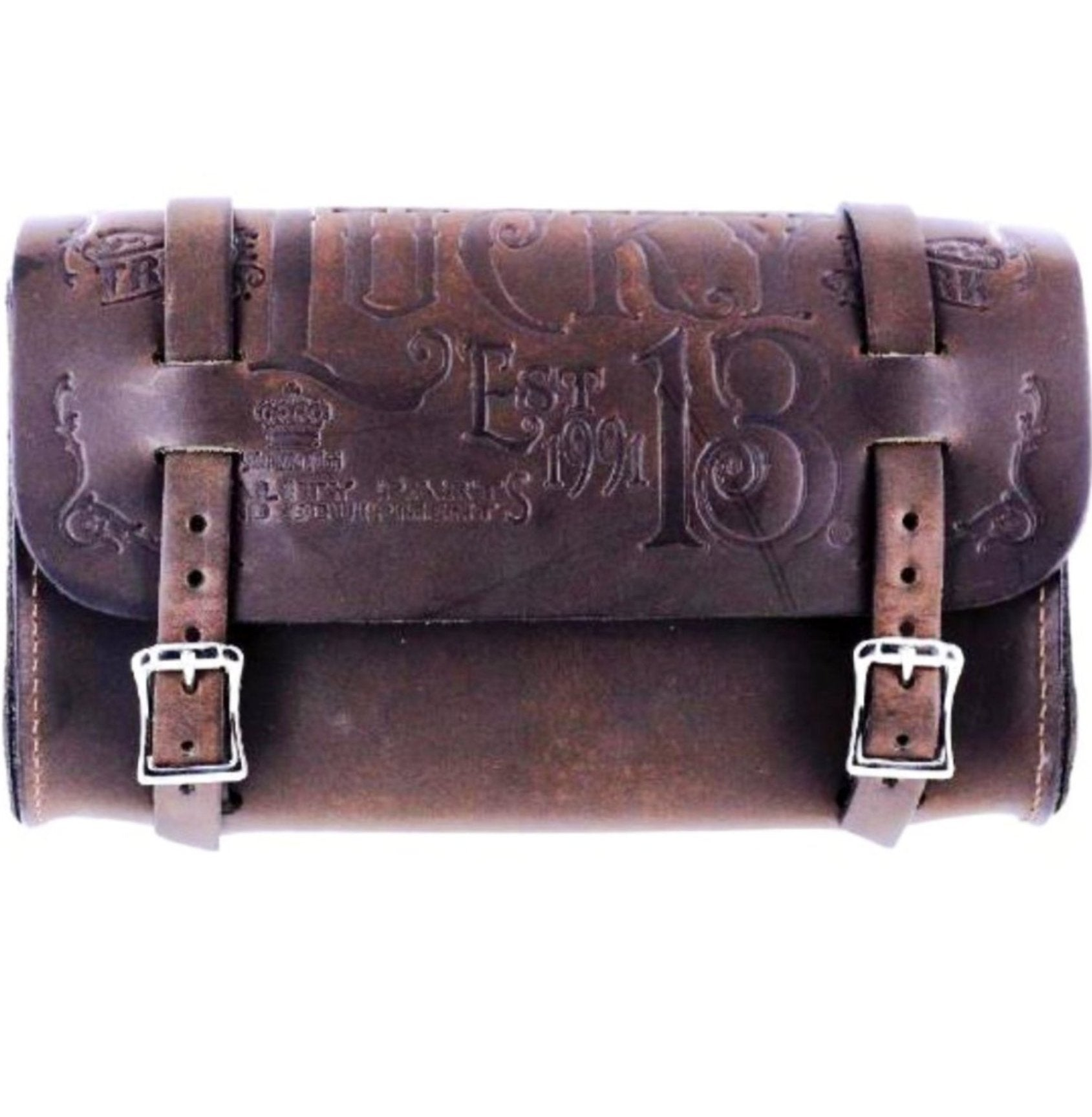 The L-13 M.F.G CO Tool Pouch - ANTIQUED BROWN