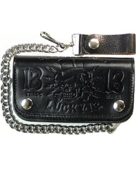 The DEATH OR GLORY Wallet - BLACK