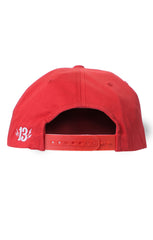 The SHOCKER Cap - RED/WHITE