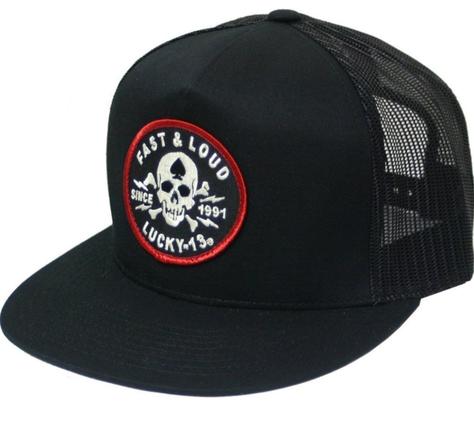 The FAST & LOUD Trucker Cap - BLACK