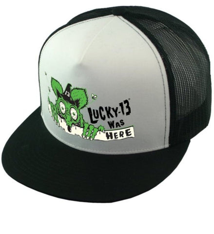 The KILLROY Cap - BLACK/WHITE