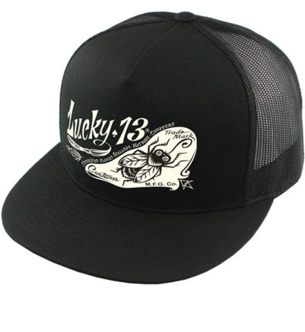 The PIN-FLY Cap - BLACK/BLACK