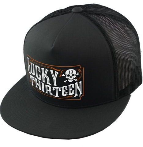 The SALOON Cap - BLACK/BLACK