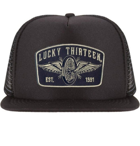 The SPEEDSTER Flat Bill Trucker Hat