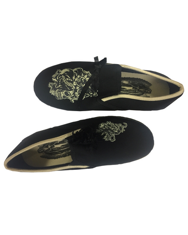 The LOS MUERTOS Flat - BLACK/BONE