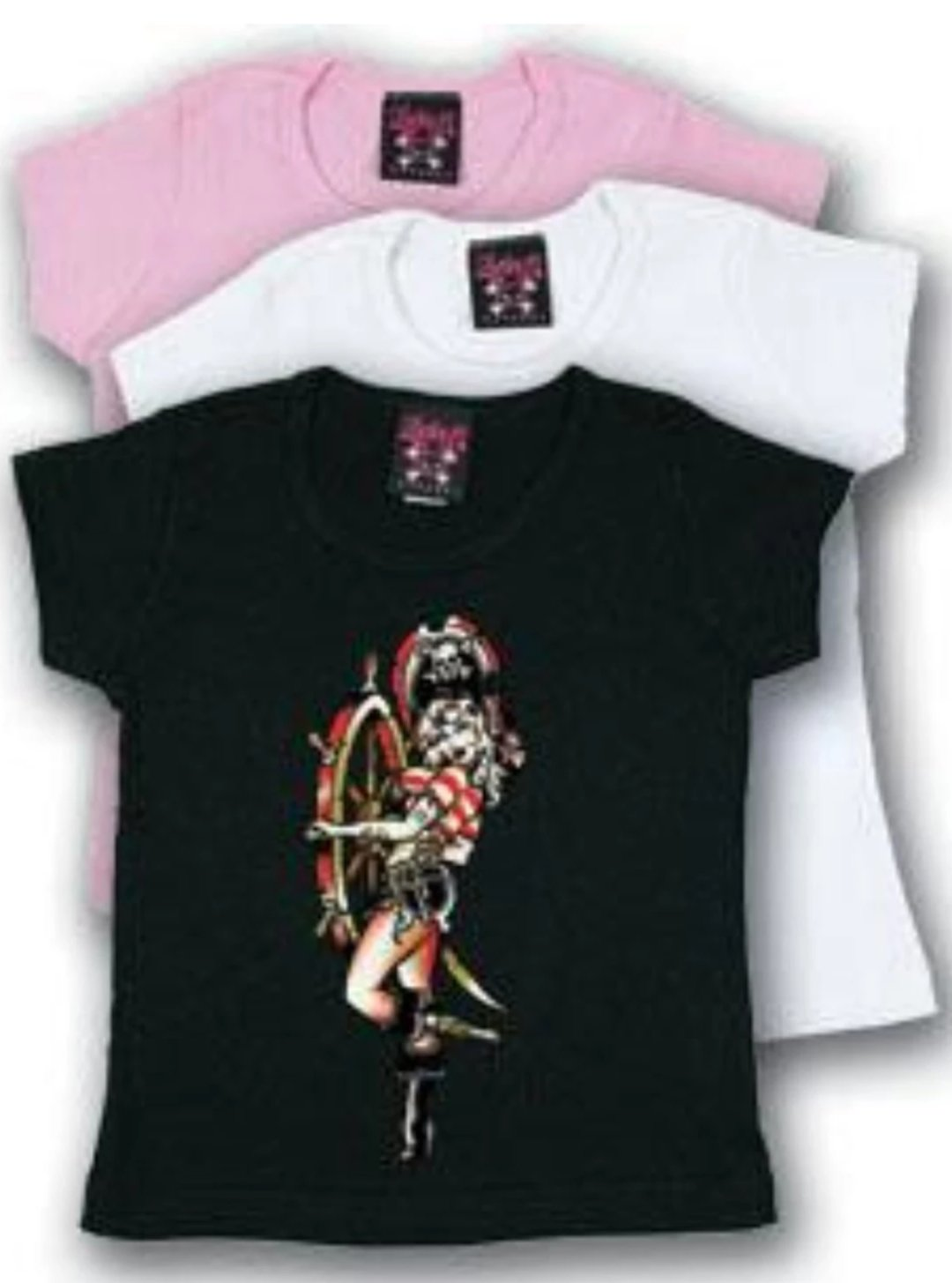 The PIRATE GIRL Toddler Tee - LIMITED QUANTITIES AND SIZES AVAILABLE