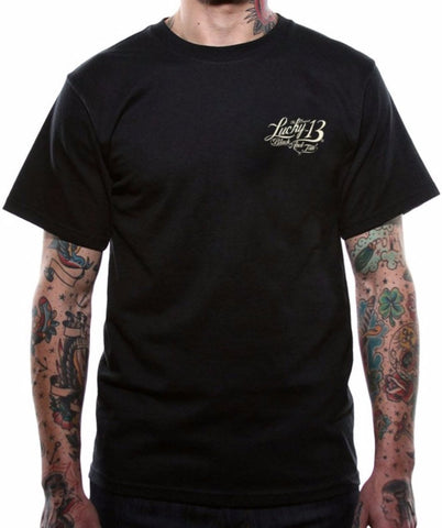 The BLACK & TAN Tee Shirt - LAST ONE IN SIZE SMALL!