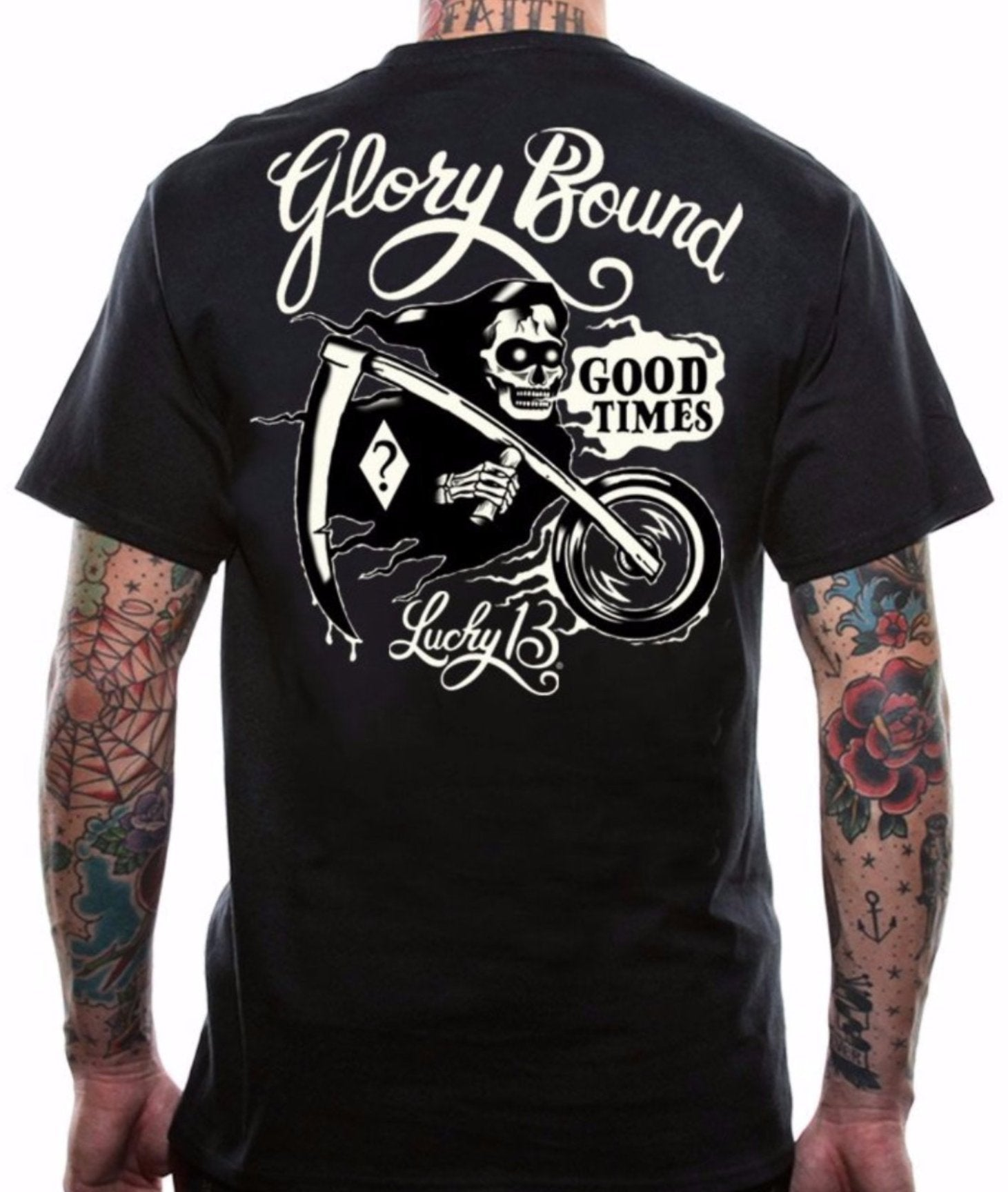 The GLORY BOUND Tee Shirt - LAST ONE IS A SMALL!