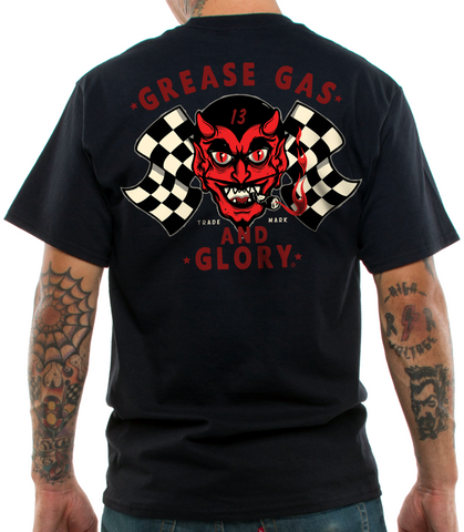The GREASY DEVIL Tee