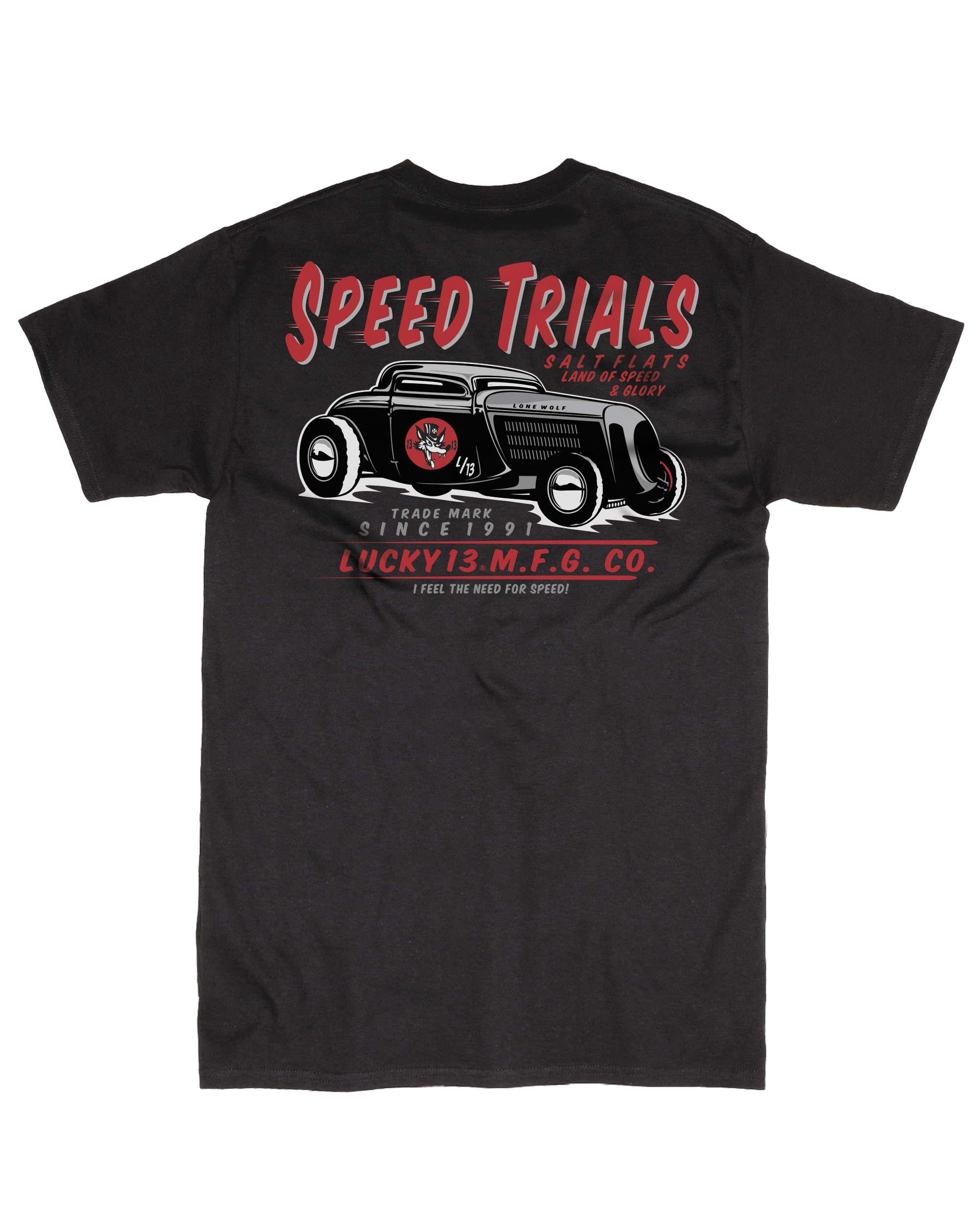 The SPEED TRIALS Tee