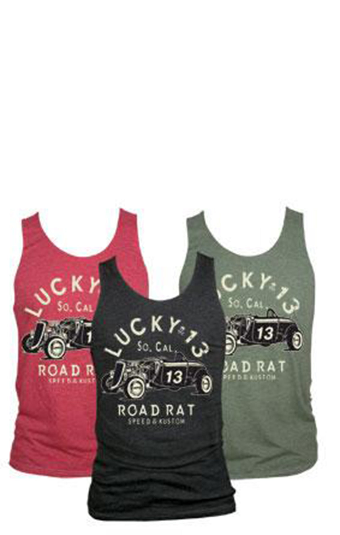 The ROAD RAT Tank - OLIVE - (ONLY SIZE SMALL LEFT!)