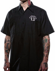 The BLACK SIN Work Shirt