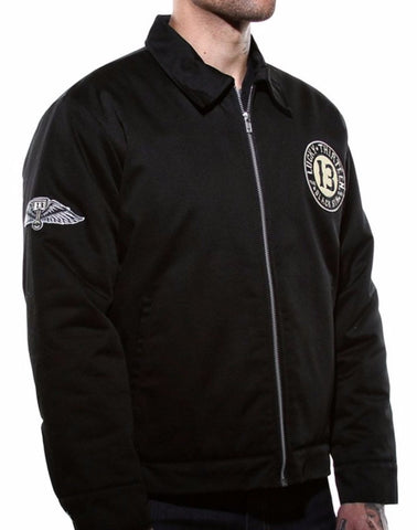 The BLACK SIN Jacket - ONLY SIZE LARGE LEFT!