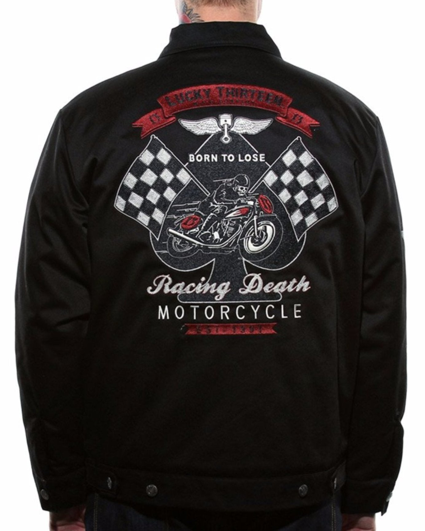 The RACING DEATH Jacket