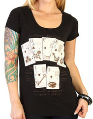 The LUCKY FORTUNE Scoop Neck Tee