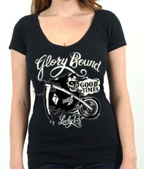 The GLORY BOUND Deep V-Neck Tee