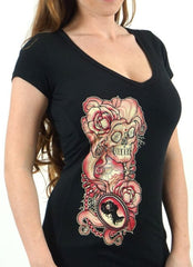 The OLD BEAUTY Deep V-Neck Tee