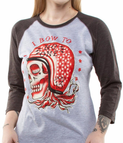The NO ONE Girls Raglan