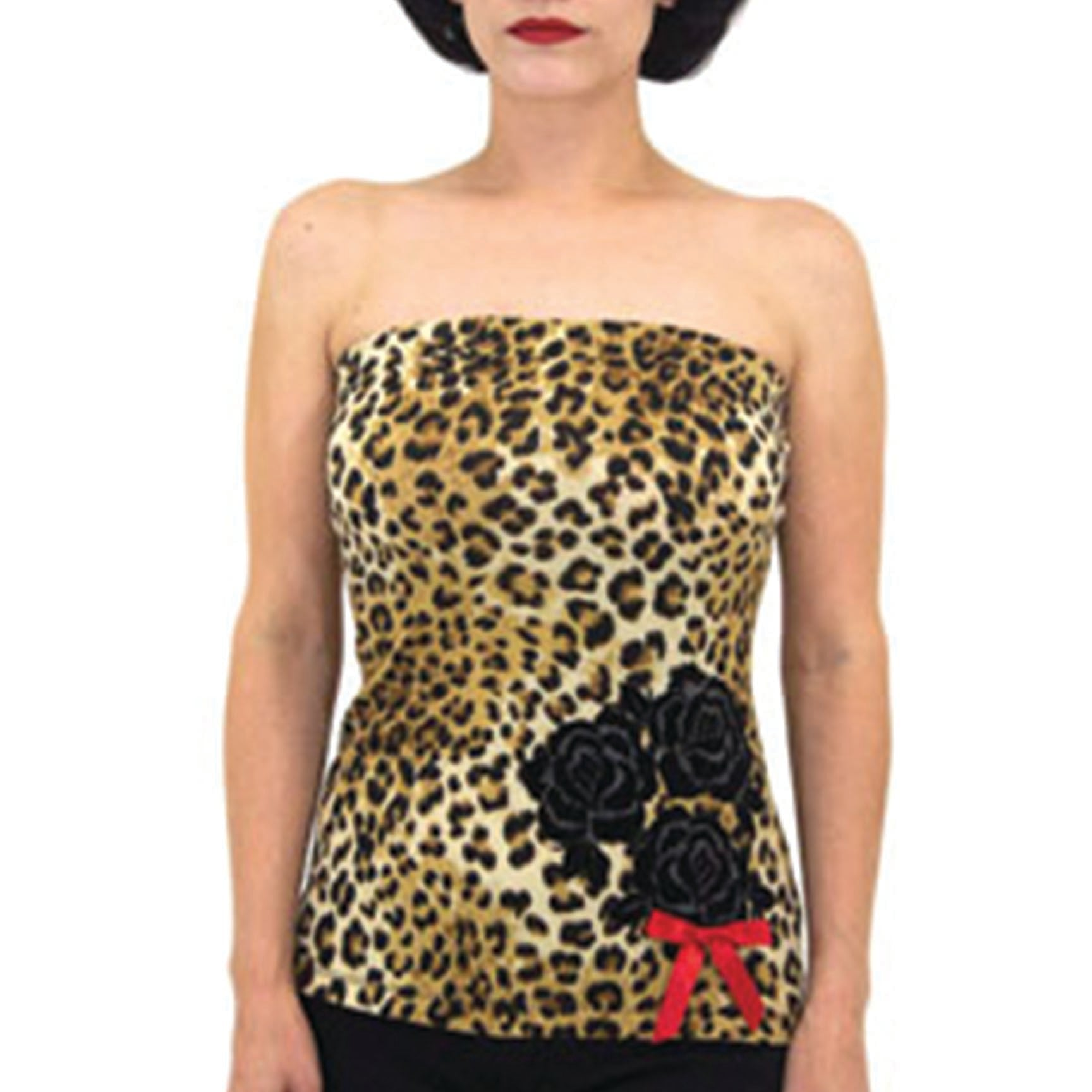 The SANDY Leopard Tube Top - LAST ONE IS A SMALL!