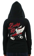 The DERBY WING Ultra Heavy Women's Hoodie - A GGG EXCLUSIVE!
