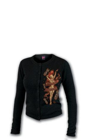 The BURLESQUE Cardigan Sweater
