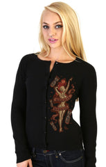 The BURLESQUE Cardigan Sweater - ONLY SIZE SMALL LEFT!  GRAB ONE!!!