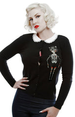 The DOLL PARTS Cardigan - SIZE MED & XL ONLY!