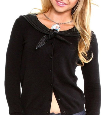 The SHE LOVES ME KNOT Cardigan - ONLY SIZES SMALL & XL LEFT!