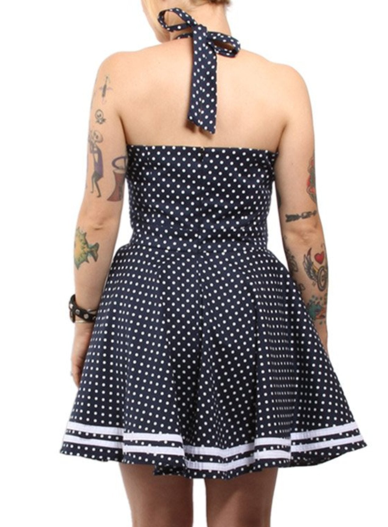 The DEVIL IN DEEP BLUE SEA Swing Dress - LAST ONE IS A 2XL!