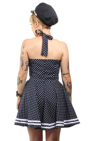 The DEVIL IN DEEP BLUE SEA Swing Dress - SIZE 2XL ONLY!