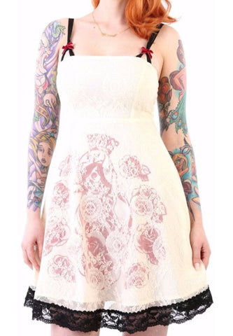 The CARBONA Lace Layered Dress