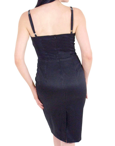 The BISOU Pinstripe Dress
