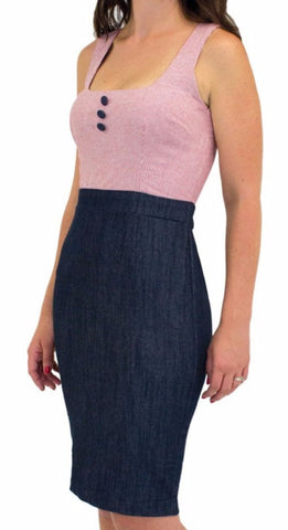 The CLAUDETTE Sleeveless Dress