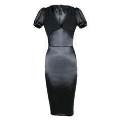 The DRAPED DRAMA 40's Style Full Length Dress