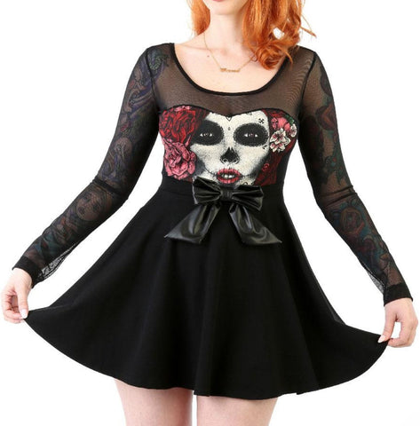The SEDATED Jersey Skater Dress