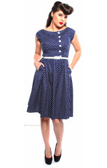 The DOTTIE WEST Dress - LAST ONE IS A SIZE SMALL!