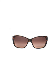 The LE SABOTEUR Sunglasses - Tortoise+Moss Frames w/ Brown Gradient Lenses