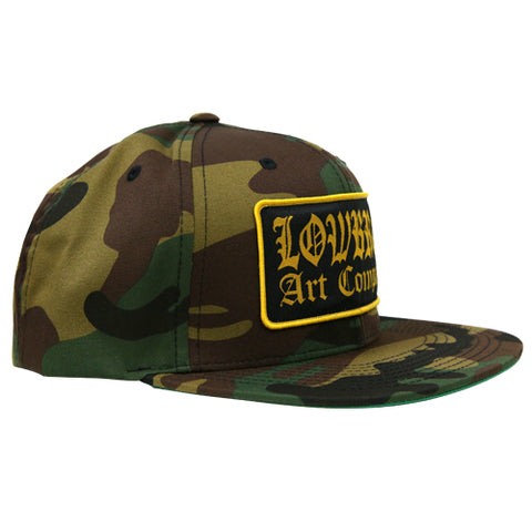 The LOWBROW Classic Trucker Snapback Cap - CAMO