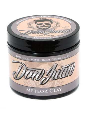 Don Juan - METEOR CLAY Medium Hold/Matte Finish Water-Based Pomade