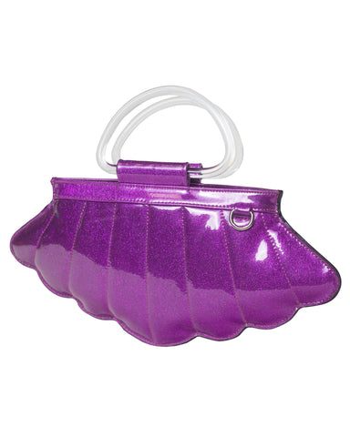 The MERMAID Tote - ELECTRIC SPARKLE PURPLE