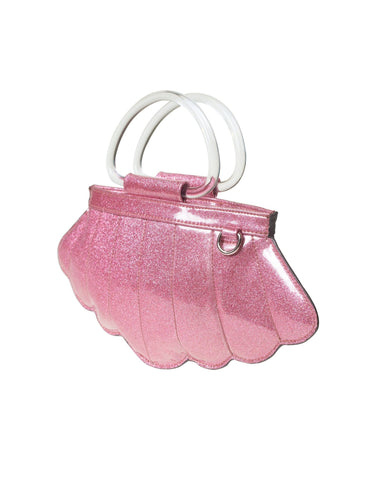 The MERMAID Tote - PINK  BUBBLY SPARKLE