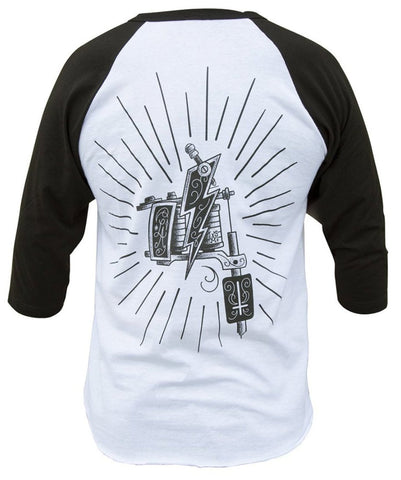 The MACHINE Raglan Tee
